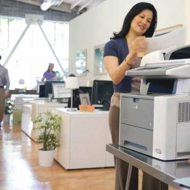 Business offce print